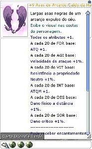 +9 Asas de Arcanjo Caído da Maldição Fatal 3/2/2