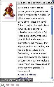 +7 Elmo do Xogunato do Gatuno
