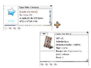 Combo  Tapa-Olho  Cósmico [1] + ORC HERÓI