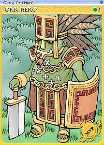 Carta Orc Herói