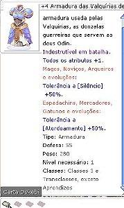 +4 Armadura das Valquírias de Zefir