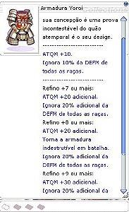 Armadura Yoroi [1]