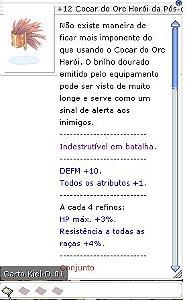 +12 Cocar do Orc Herói da Pós-conjuração