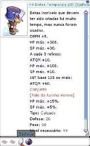 +9 Botas Temporais INT (Epifania Enct 5 )