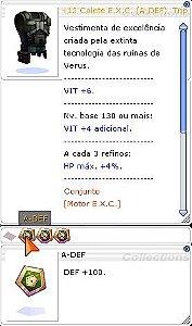 +12 Colete E.X.C (A-DEF) Trip