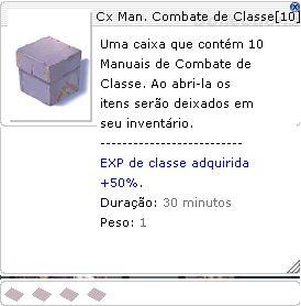 Cx Man. Combate de Classe [ 10 Und ]