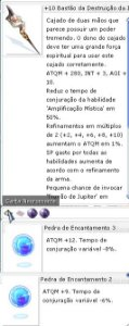 +10 Bastão da Destruição  da Indiferença Encatamento 3/2