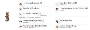 SET Cavaleiro Rúnico   Impacto TYR/ Veterano / Pvm