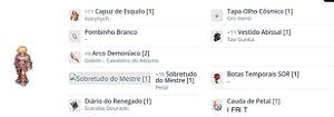 SET Renegado ARCO/CRITICO/FRENESI/ Tapa olho /TG