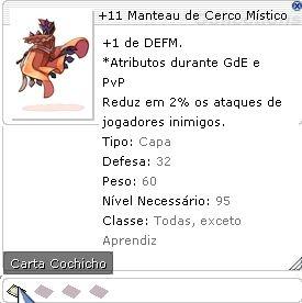 +11 Manteau de Cerco Místico