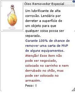 Óleo Removedor Especial [ MVP ]