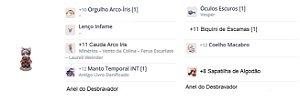 SET Doram Auto CAST Combo INFAME/CAUDA/Sapatilha