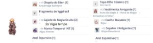 SET Arcano DMG WOE / PVP/ BISPO ORIGINAL / IMPACTO TOP
