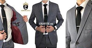 Terno Slim Masculino GRAFITE 9 Microfibra Corte Italiano