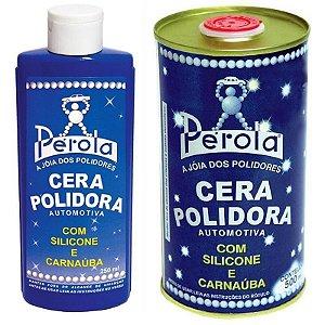 Cera Polidora Líquida Pérola 250ml ou 500ml