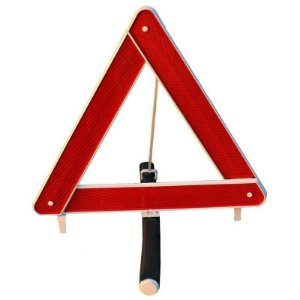 Triângulo de Segurança com Base Pesada