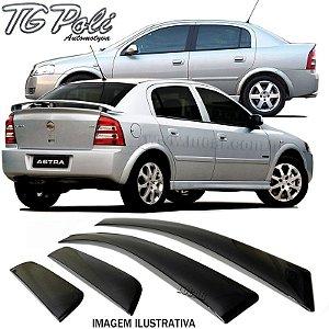 Calha de Chuva Astra 4 Portas Hatch e Sedan