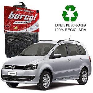 Tapete Borcol Spacefox de Borracha Jogo c/ 4 Peças