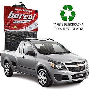 Tapete Borcol Montana 2011 em diante de Borracha Jogo c/ 2 Peças