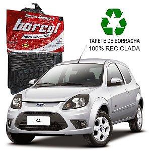 Tapete Borcol Ka 2008 a 2014 de Borracha Jogo c/ 4 Peças