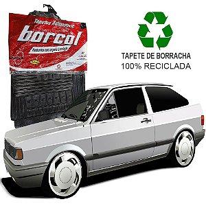 Tapete Borcol Gol, Voyage e Parati G1 1980 a 1996 de Borracha Jogo c/ 4 Peças