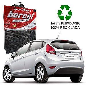 Tapete Borcol New Fiesta Hatch 2011 em diante de Borracha Jogo c/ 4 Peças