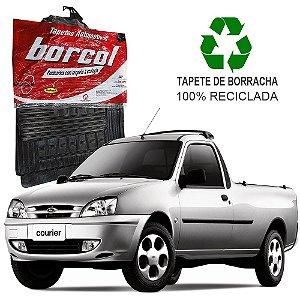 Tapete Borcol Courier 1996 em diante de Borracha Jogo c/ 2 Peças
