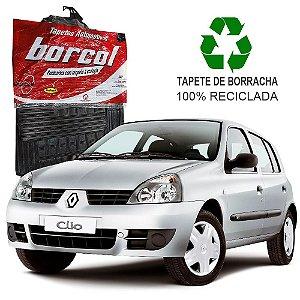 Tapete Borcol Clio de Borracha Jogo c/ 4 Peças