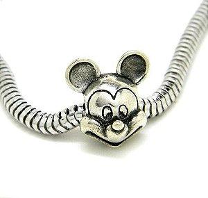 Berloque Mickey - Prata 925 - Modelo 2