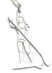 Colar Menina - Stand Up Paddle - Prata 925