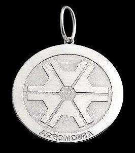 Pingente Agronomia - Prata 925
