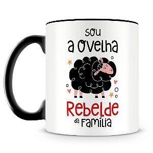 Caneca Personalizada Ovelha Rebelde da Família