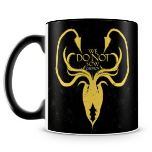 Caneca Personalizada Game of Thrones Casa Greyjoy