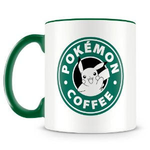 Caneca Personalizada Pokémon Coffee