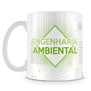 Caneca Personalizada Engenharia Ambiental