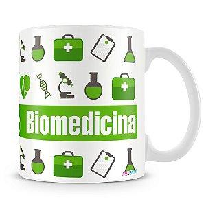 Caneca Personalizada Profissão Biomedicina - Mod.1