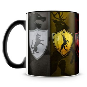 Caneca Personalizada Familias Game Of Thrones (Mod.2)