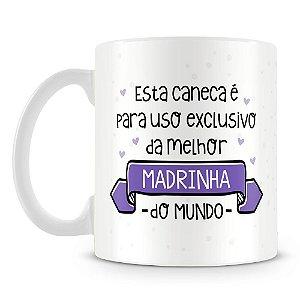 Caneca Personalizada Uso Exclusivo da Madrinha (Com Foto)