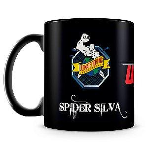 Caneca Personalizada UFC Spider Silva (100% Preta)