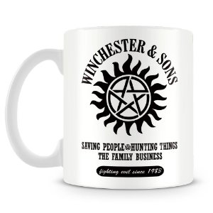 Caneca Personalizada Supernatural Winchester and Sons (Mod.1)