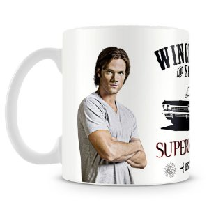Caneca Personalizada Supernatural Winchester and Sons (Mod.2)