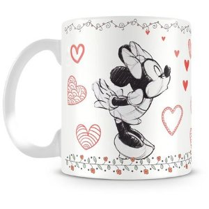 Caneca Personalizada Mickey e Minnie Love