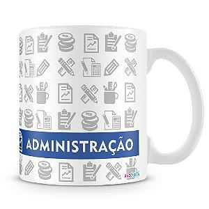Caneca Personalizada Profissão Administração (Com Nome)