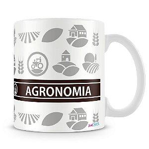 Caneca Personalizada Profissão Agronomia (Com Nome)
