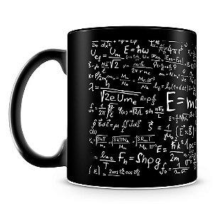 Caneca Personalizada Albert Einstein (100% Preta)