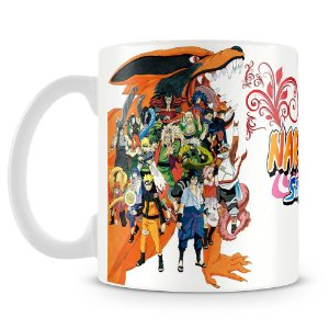 Caneca Personalizada Naruto Shippuden