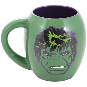 Caneca Oval de Porcelana Hulk