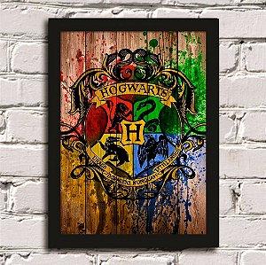Poster Casas Hogwarts