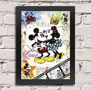 Poster Mickey e Minnie (Mod.1)