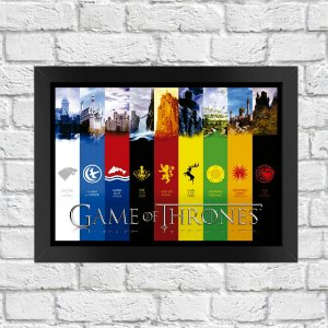 Poster Game Of Thrones (Mod.7)